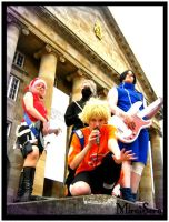 Naruto Artbook Cosplay by MiraiSora