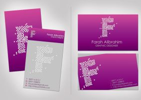 purple business card by FNIsa