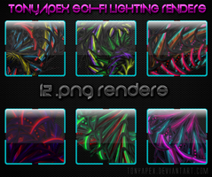 Sci-Fi Renders: Lighting Pack by TonyApex