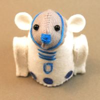R2-D2 Mouse by The-House-of-Mouse