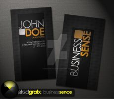 Business Sense Business Card Templates by EdonisKville