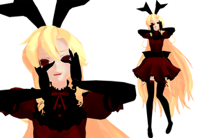 MMD - Yandere Pose by teatime-plasmid