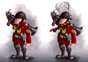 TF2: Little Soldiers by DarkLitria