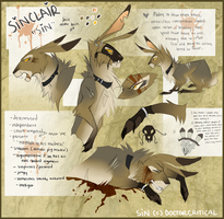 Sinclair [ Sin ] Reference Sheet by DoctorCritical