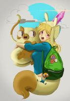 fionna and cake by informe