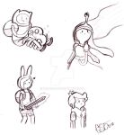 Adventure Time Sketches 5 by Celebi9