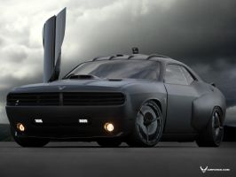 Dodge Challenger Vapor U.S. by TheCarloos