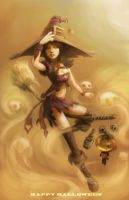 hmong witch by AlivanArt