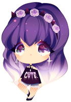 [open] SB $1 pastel goth adoptable by CMYKidd
