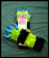 Monster Kitty Arm Warmers by StuffItCreations