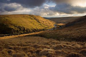 Late Sun Over Tavy Cleave by Alex37