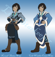 Waterbender Costume Concept by MissSeaShanty