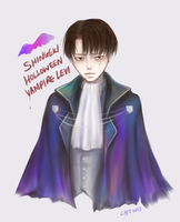 Holloween Vampire Levi by CHIE0w0
