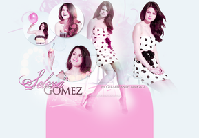Selena Gomez Layout 2 by GiraffeAndy