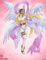 Angewomon by Kimahri-Ronso
