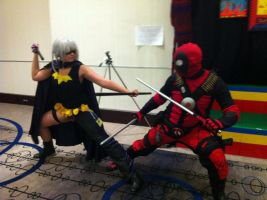 DeadPool You Are Going Down by PandaSoulEater