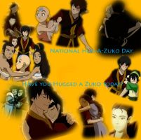 Hug-A-Zuko Day by SnoopyGirl213