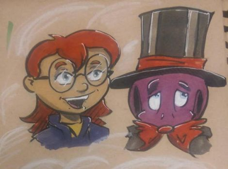 Seth and simone by RidleyLitton