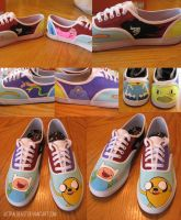 Adventure Time Kicks by AstralBeast