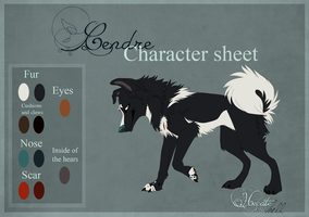 Cendre - Character sheet by hecatehell