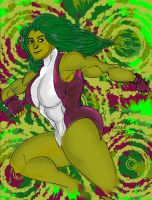 She-Hulk (July 2013) by fmvra1s