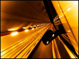 In the tunnel by RedlineGT