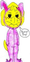 A Pink and Yellow Nightmare by BestBarneyFan