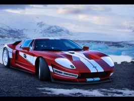 Ford GT Race Car by EvolveKonceptz