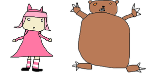 Annie And Tibbers by Dannehh
