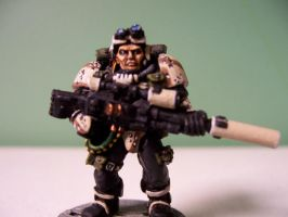 Space Marine Scout Sniper II by Action-Fig