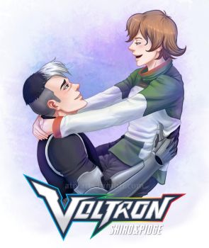 Voltron 2016: Shiro and Pidge by AtreJane