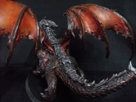 Deathwing figurine by Artsed