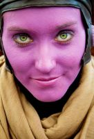 BEHOLD: Purple face by Pereprin