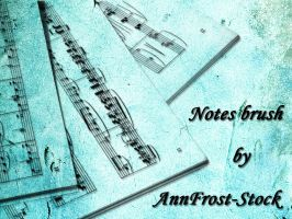 Note brush by AnnFrost-stock