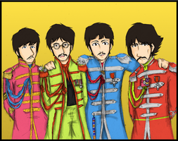 Sgt. Pepper's LHC Band by YoGurei