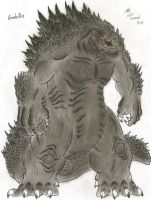 Godzilla by MonsterKingOfKarmen