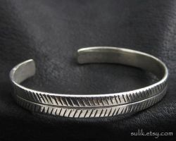 Silver bracelet from Ancient Rome by Sulislaw