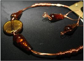 Copper wire Jewellery 14 by Country-Gems