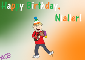 Happy Birthday, Nialler by whouffIe