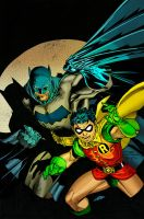 Batman N Robin by TMD2008