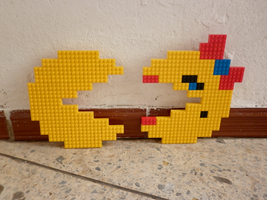 LEGO: Pacman, Ms Pacman by Meufer