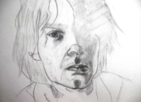 Cobain Sketch by xLithium0509