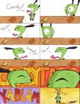 How Gir Eats a Reese's by TresMaxwell