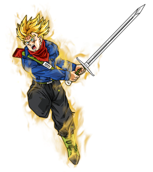 Future Trunks Dragon Ball Super by BardockSonic