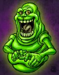 Slimer Color Sketch by Kenpudiosaki