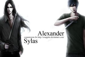 Sylas and Alex by shibakaien