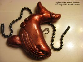 Steampunk Whale Pendant by shadowqueen16