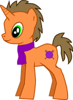 Yarn Purl with cutie mark for Winter by catluvr2