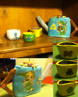 Legend of Zelda Tea Set by DaringDestiny