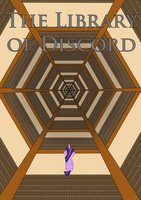 The Library of Discord Fanfiction Cover by chinchillax